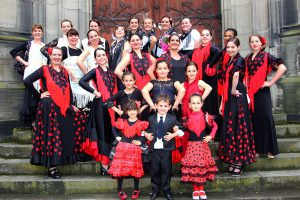 21 juin 2015 - Photo de groupe Flamenco passion